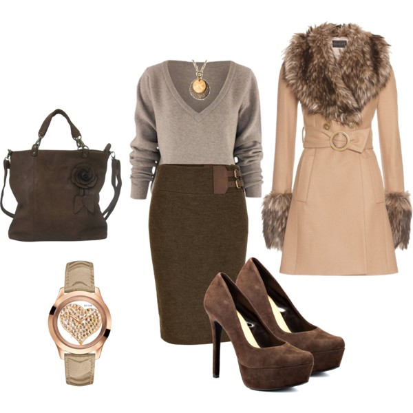 Fall Formal Outfits Polyvore Combos For Business Women