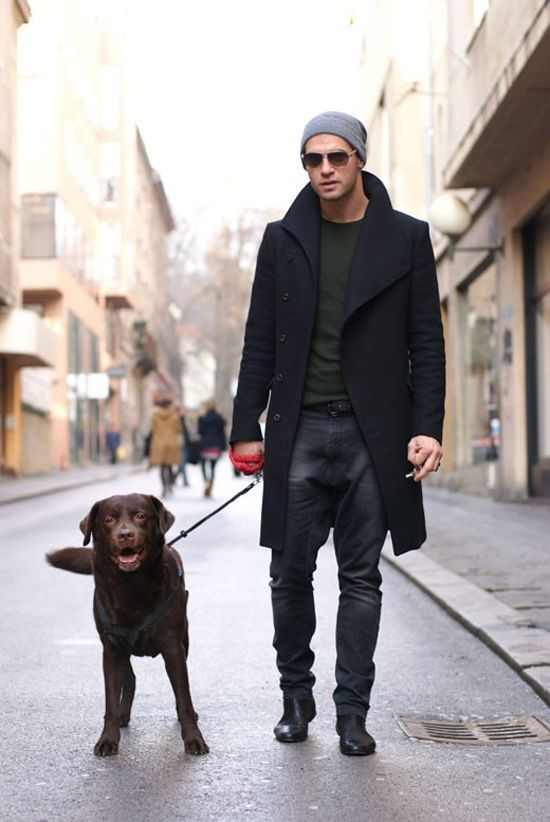 Urban Street Style Winter Outfit Ideas For Men 2015 16